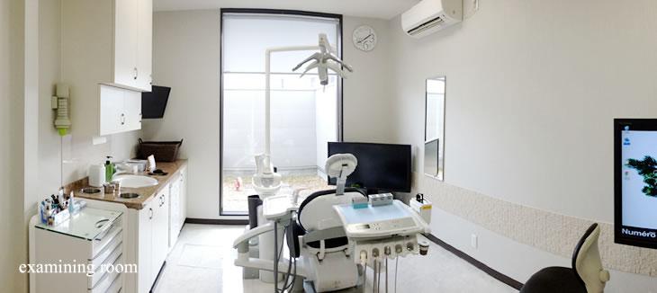 くれいし歯科西川原院診療室