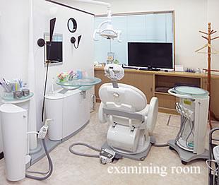 くれいし歯科法界院本院診療室